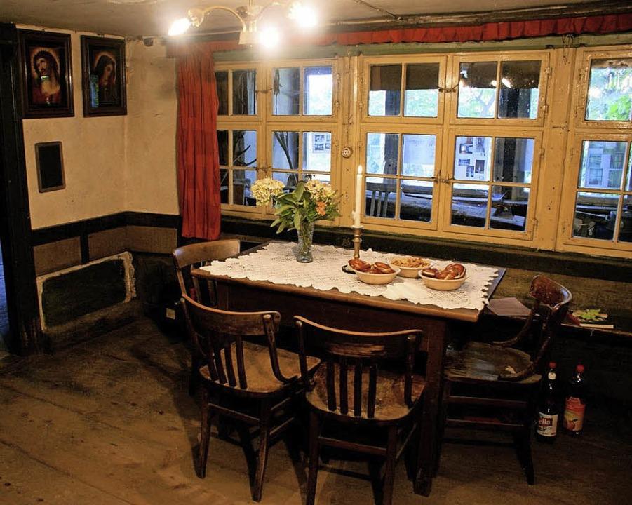 Soll    als kommunaler Begegnungsraum ...utzt werden:  Zechenwihler Hotzenhaus     Foto: privat