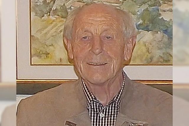 Trauer um ehemaligen Ortsvorsteher Werner Stoll