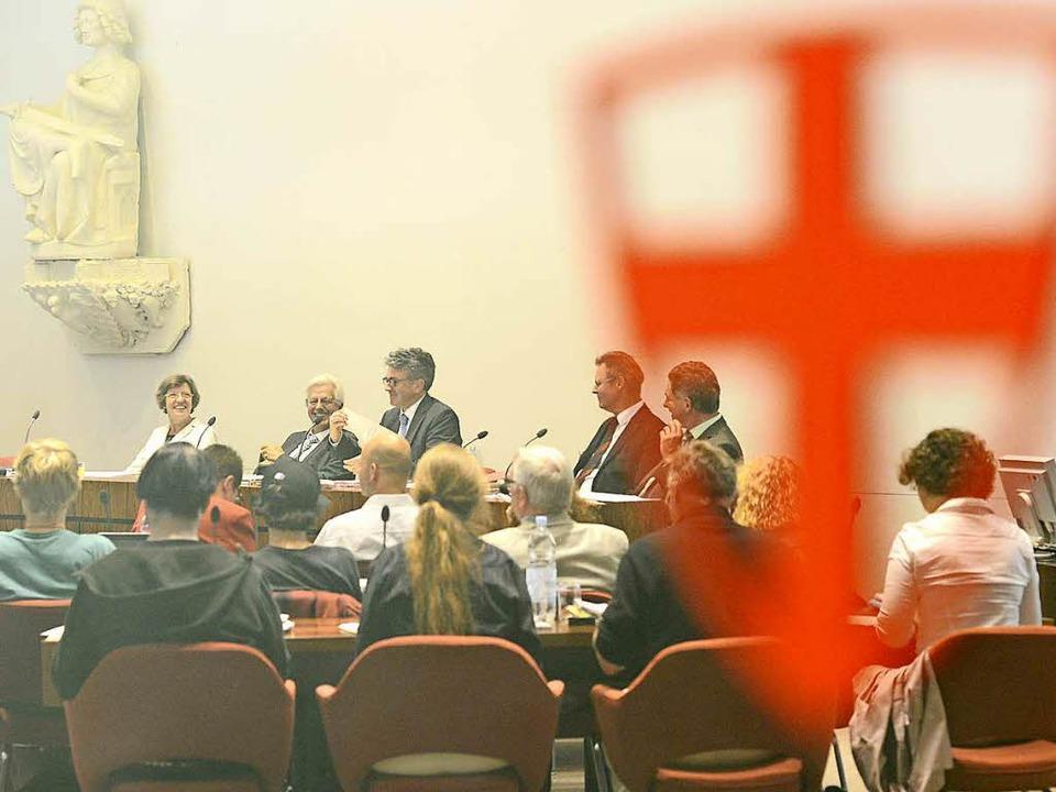 Der Gemeinderat diskutiert heute nichtöffentlich über das Stadtjubiläum  | Foto: Ingo Schneider