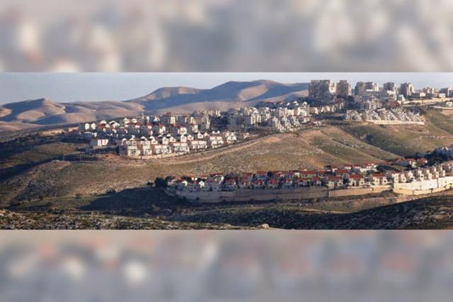 Jüdische Siedler im Westjordanland gegen Zwei-Staaten-Lösung