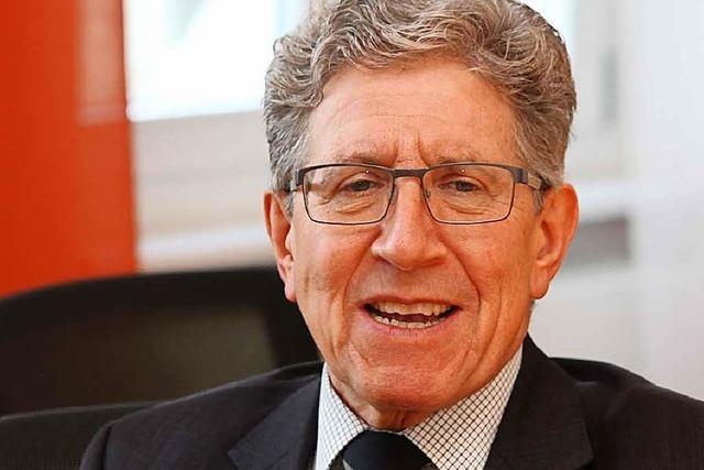 Lahrs OB Wolfgang G. Müller ist Vize-Weltbürgermeister