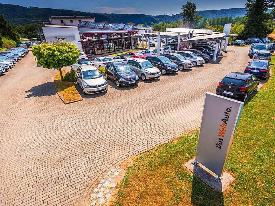 Das Autohaus Ebner in Albbruck  | Foto: Autohaus Ebner