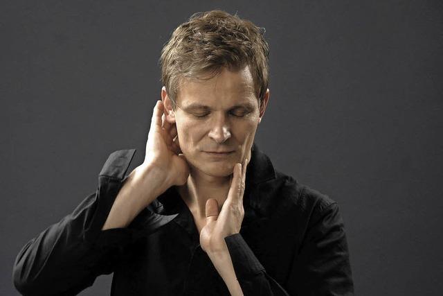 Christian Zehnder mit neuem Soloprogramm