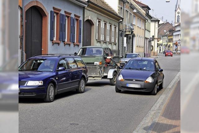 Probelauf für neue Parkregelung
