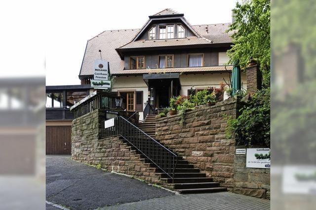 Drescheschopf und Waldhaus