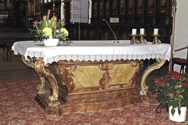 Ein Altar mit Geschichte