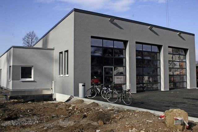 Neues Gerätehaus wird bezogen
