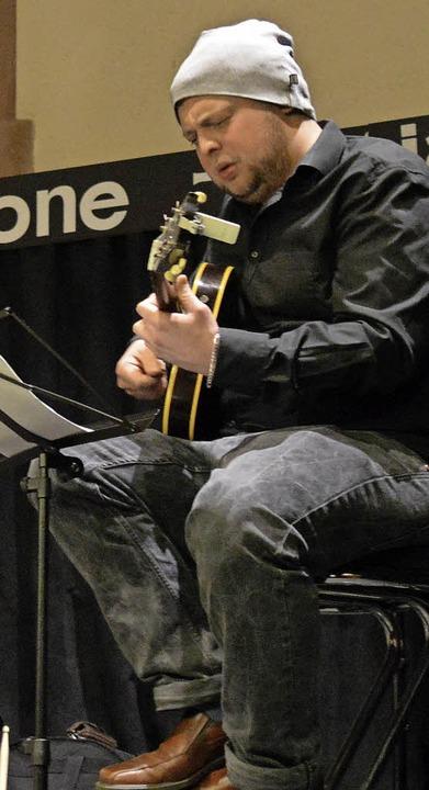 Gitarrist Christoph Neuhaus im Jazztone   | Foto: Adrian Steineck