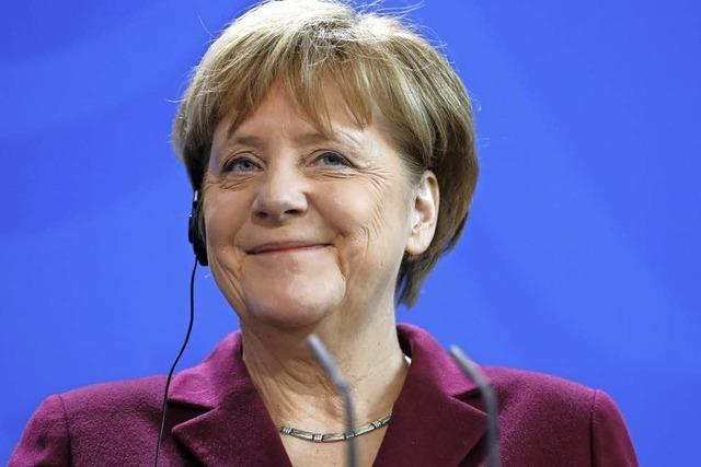 Ist Merkel derzeit gut drauf oder doch eher schlecht?