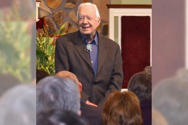 Ex-US-Präsident Jimmy Carter ist ein populärer Priester