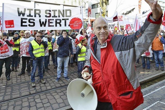 Verdi mobilisiert landesweit viele Beschäftigte