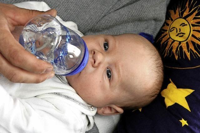 Schadstoffe im Baby-Tee