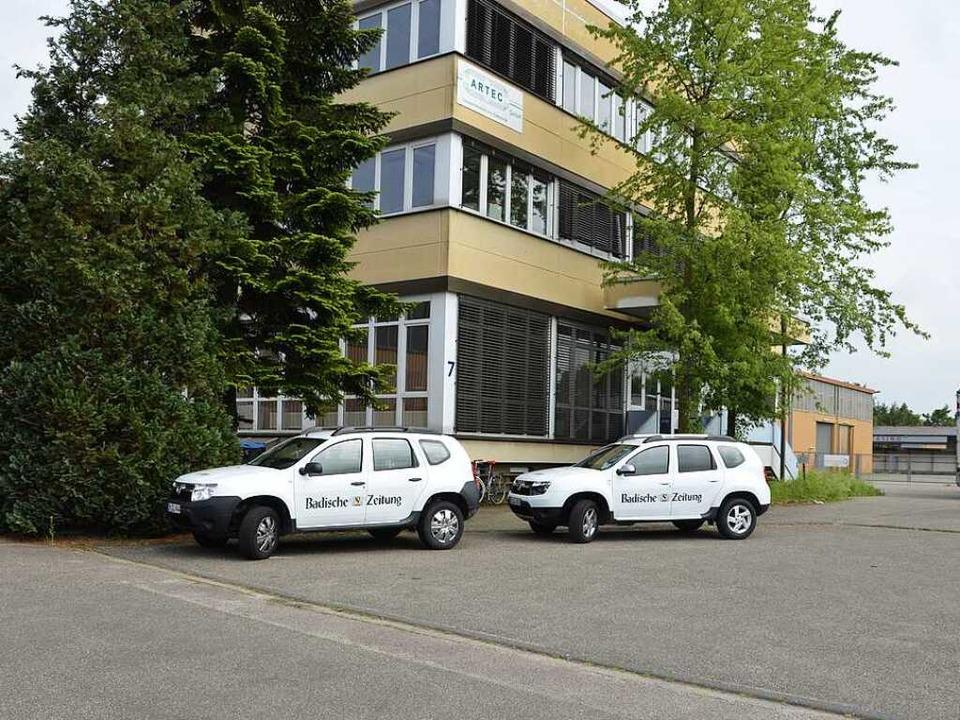 Die Zustellagentur Lurk in Herbolzheim.  | Foto: bz