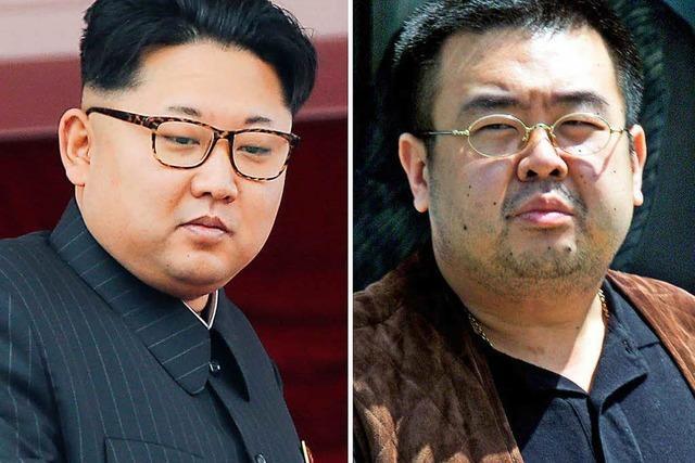 Tod von Kim Jong Uns Halbbruder: Nordkorea unter Verdacht