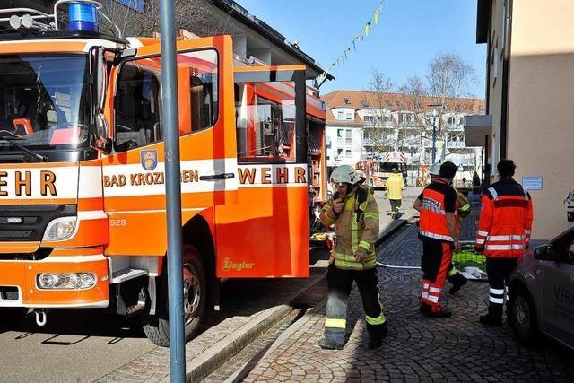 Kellerbrand – Anwohner verhindern Schlimmeres