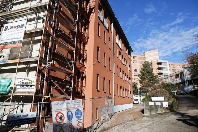 Bettenhaus im Klinikum wird später fertig
