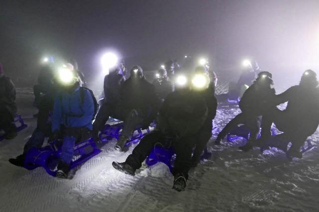 Auf Schneeschuhen am Feldberg