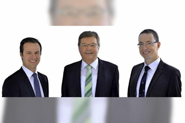 Stefan Klein wird in der Sparkasse Nachfolger von Heinrich Mattmüller