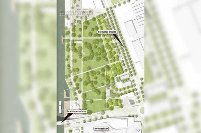 Zwei Varianten für den Rheinpark