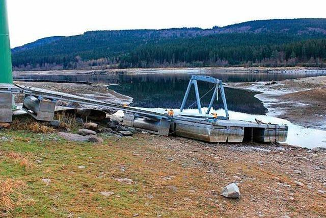Soll der Pegel des Schluchsee noch mehr abgesenkt werden? Die Segler machen Gegenwind