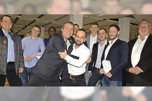 OB empfängt die erfolgreichen KSV-Ringer