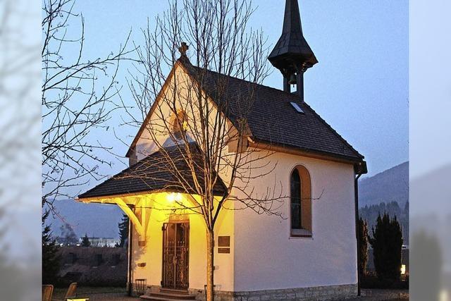 St. Josefskapelle bietet Gottesdienste an