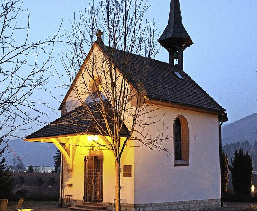 Die St. Josefskapelle in Wehr  | Foto: HANSJÖRG Bader