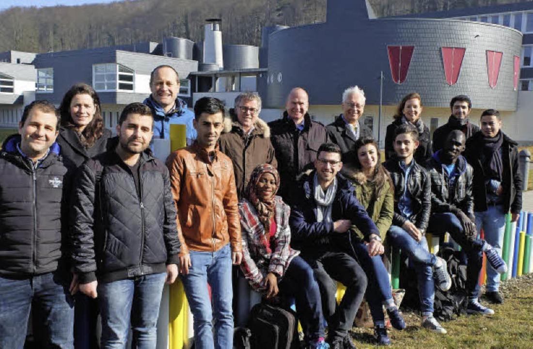 Teilnehmer des Kontaktstudiums und Dozierende der DHBW   | Foto: DHBW