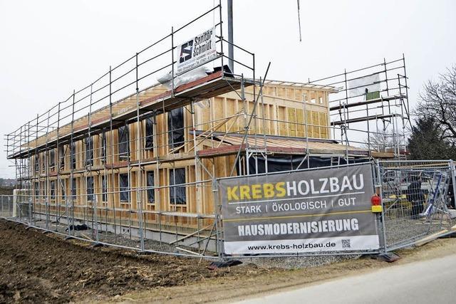 Haus wächst an der Hunnsgasse