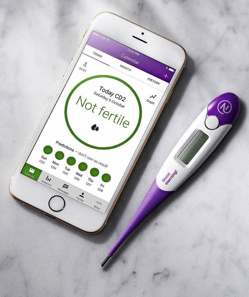 Verhüten Mit Dem Smartphone: Gesundheit & Ernährung: Mit Dem Smartphone Verhüten