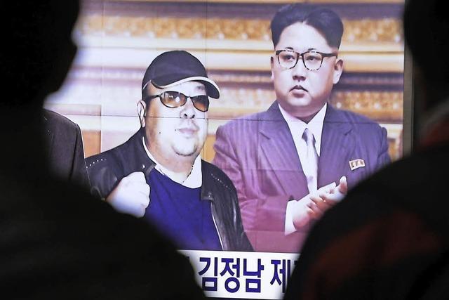 Ließ Kim seinen Halbbruder ermorden?