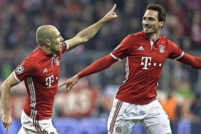 FC Bayern verteilt Watschn