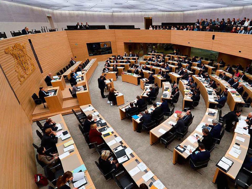Sitzung im Stuttgarter Landtag  | Foto: dpa