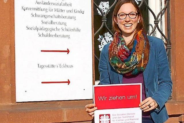 Caritas Lahr zieht ins alte Pfarrhaus um