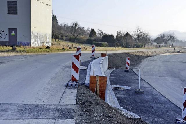 Die Straße soll bald wieder öffnen