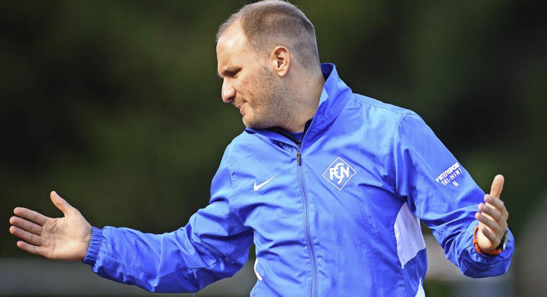Hat schon früher als Spieler gedacht wie ein Trainer: Benjamin Gallmann  | Foto: Patrick Seeger