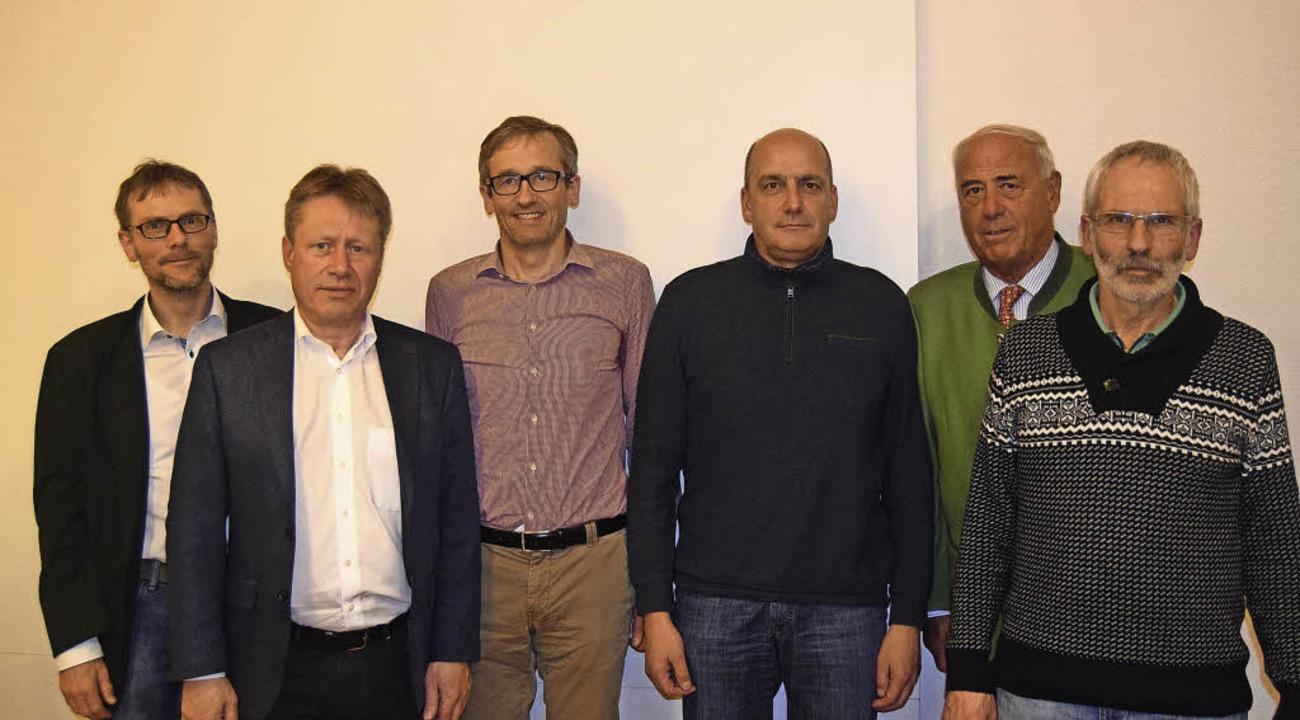 Vorstand des Trägervereins Nordic-Cent...Fleischer, Ludwig Lorenz (von links).   | Foto: Jäger