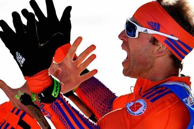 US-Amerikaner Bailey holt Gold bei Biathlon-WM