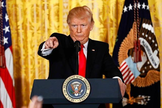Nach Pressekonferenz: Fox-News-Moderator wettert gegen Trump