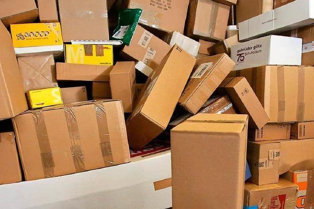 Pakete aus Lkw geklaut