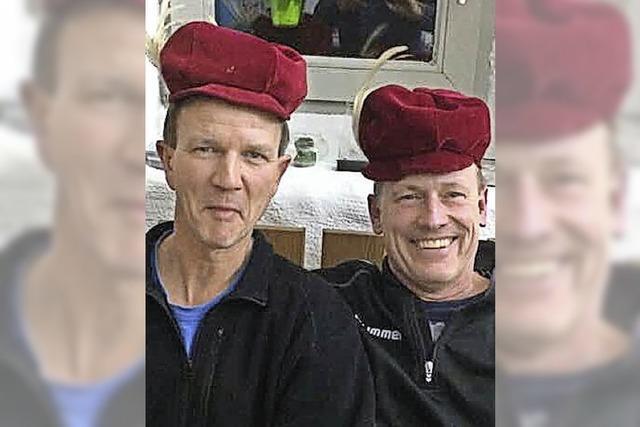 Thomas Kaiser und Stefan Rieder stehen zum 20. Mal auf der Narrenbühne