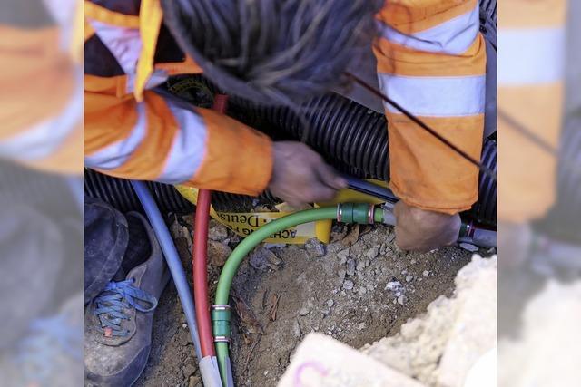 Telekom zieht Kabelbau für Breitband vor