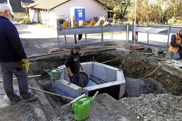 Hochwasserschutz in Nordweil