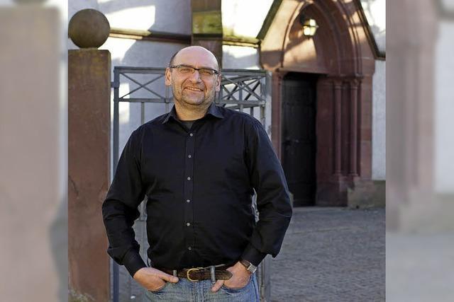 Klaus Gutwein ist der neue Pfarrer an der Melanchthonkirche