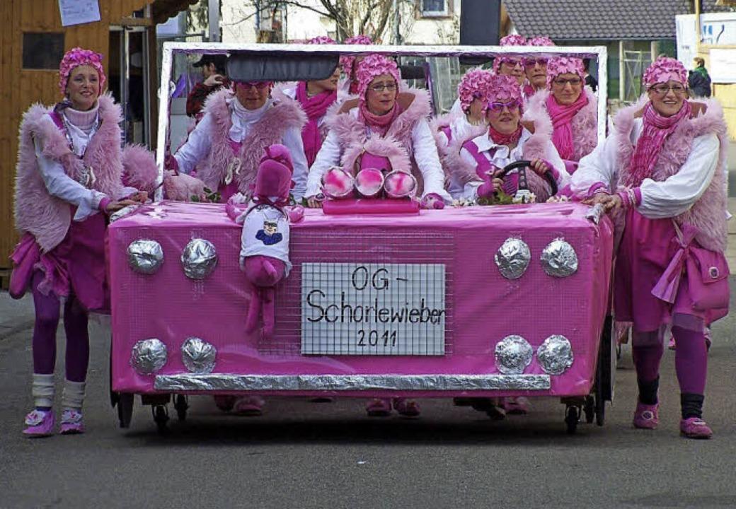 Frauchen und Wauwauchen lautete das Motto im Jahr 2011    Foto: Privat