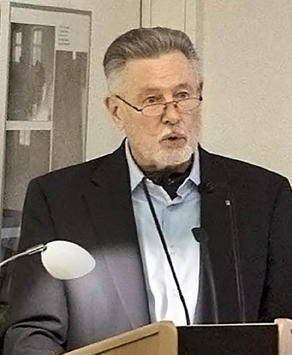 Referent Armin Bäuerle  | Foto: Volker Münch