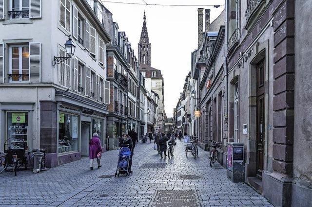 Zu Fuß schneller durch die Stadt