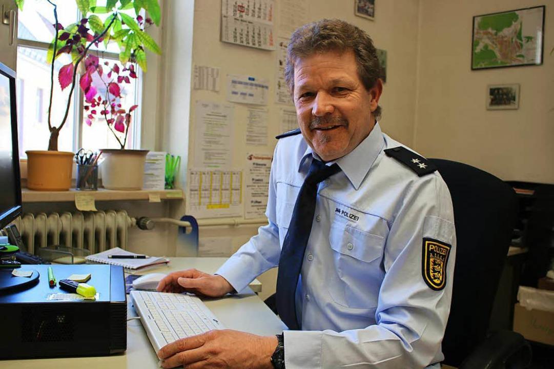 Jugendsachbearbeiter Rolf Gebhart   | Foto: Julia Gross