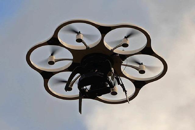 Wenn Vermesser in die Luft gehen – Drohnen über Offenburg