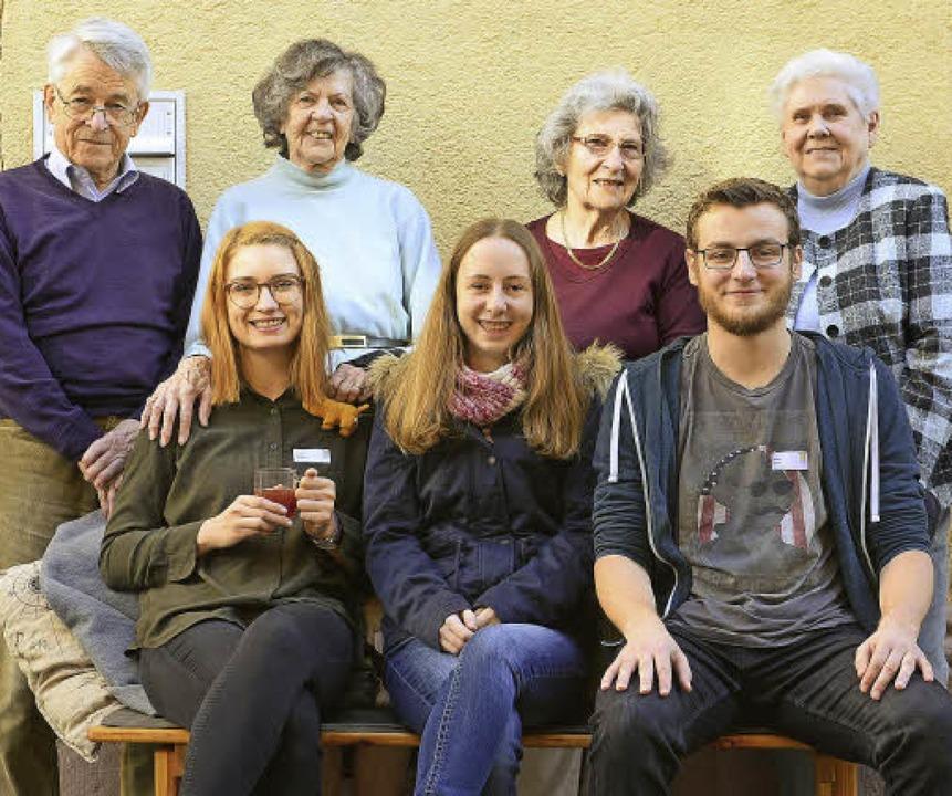 Zwei Generationen miteinander  | Foto: i. schneider